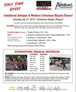 Antique and Modern Bicycle Criterium Raves 2019
